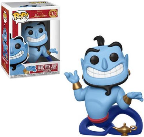 Funko Aladdin POP! Disney Genie Vinyl Figure #476 [With Lamp, Regular Animated Version]