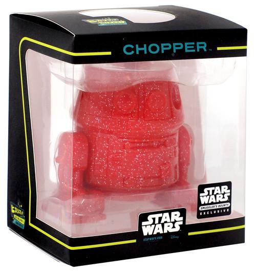 Funko Star Wars Hikari Minis Japanese Vinyl Chopper Exclusive Vinyl Figure [Red]