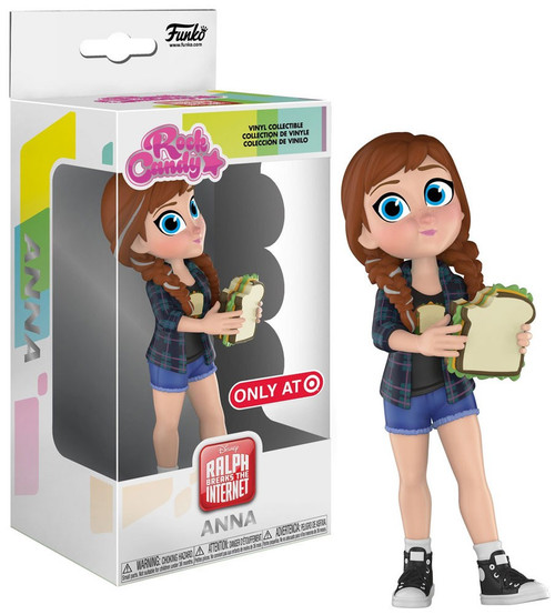 Funko Wreck It Ralph Ralph Breaks the Internet Rock Candy Anna Exclusive Vinyl Figure