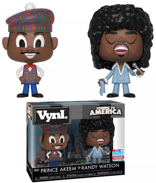 Funko Coming to America Vynl. Prince Akeem & Randy Watson Exclusive Vinyl Figure 2-Pack