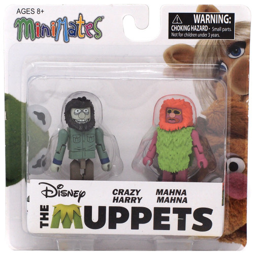 The Muppets Minimates Series 2 Crazy Harry & Mahna Mahna 2-Inch Minifigure 2-Pack