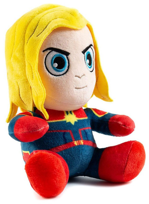 Phunny Infinity War 2 Captain Marvel 6-Inch Plush [Sitting]