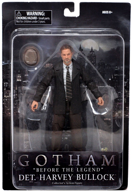 DC Gotham Detective Harvey Bullock Action Figure [without Diorama]