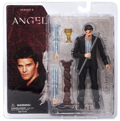 "Series 2 Battle - Damaged ""Destiny"" Angel Action Figure"