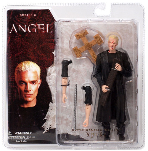 "Angel Series 2 Battle - Damaged ""Destiny"" Spike Action Figure"