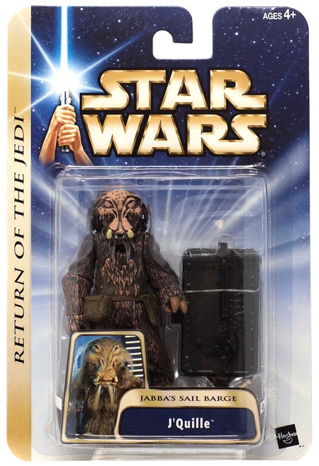 Star Wars Return of the Jedi Saga 2004 J'Quille Action Figure [Jabba's Sail Barge]