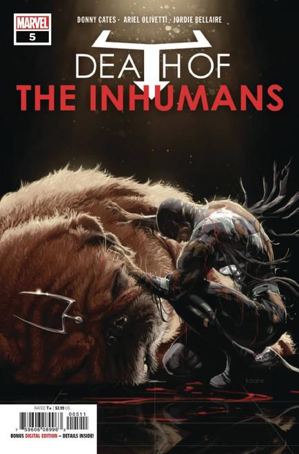 Marvel Comics Death of Inhumans #5 of 5 Comic Book