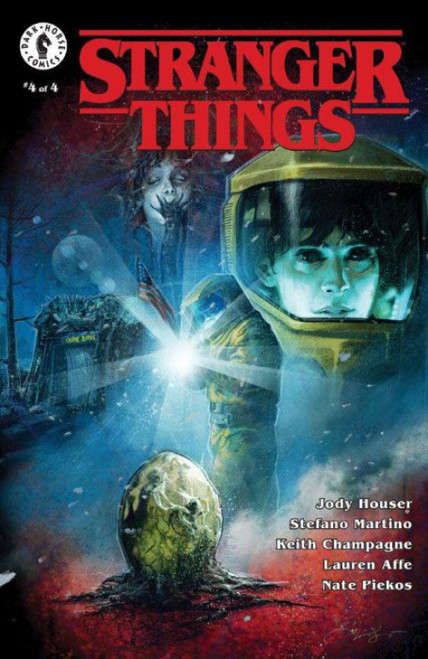 Dark Horse Stranger Things #4 Comic Book