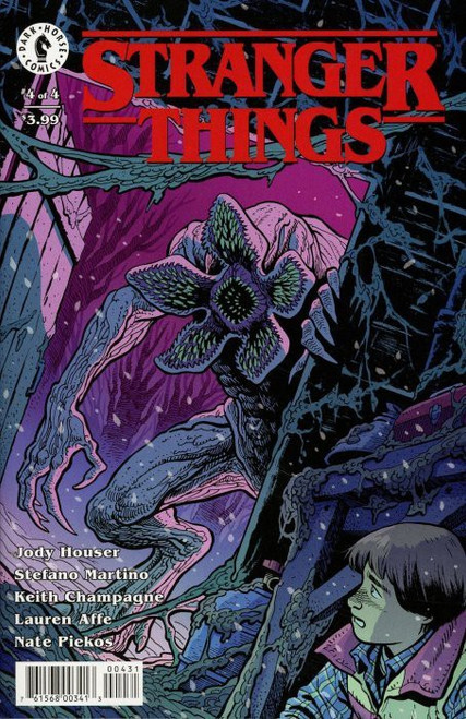 Dark Horse Stranger Things #4 Comic Book [Ethan Young Variant Cover]