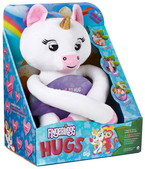 Fingerlings HUGS Gigi Exclusive Plush with Sound [Unicorn]