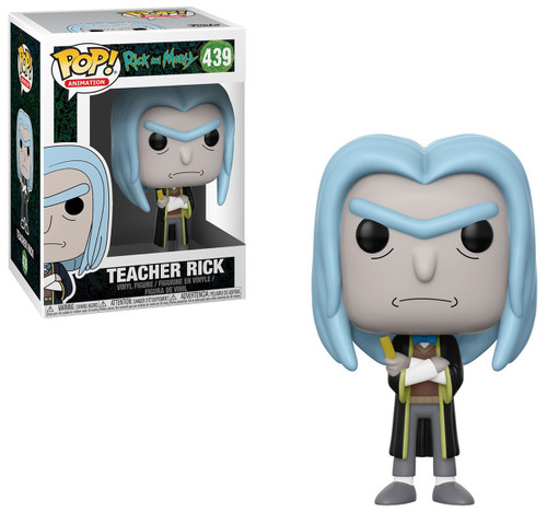 Funko Rick & Morty POP! Animation Teacher Rick Vinyl Figure #439