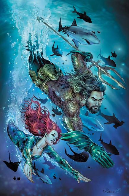 DC Aquaman #43 Comic Book [Joshua Middleton Variant Cover]