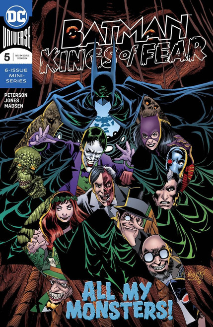 DC Batman Kings of Fear #5 of 6 Comic Book