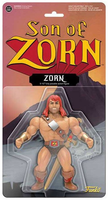 Funko Son of Zorn Zorn Action Figure [with Mighty Sword]