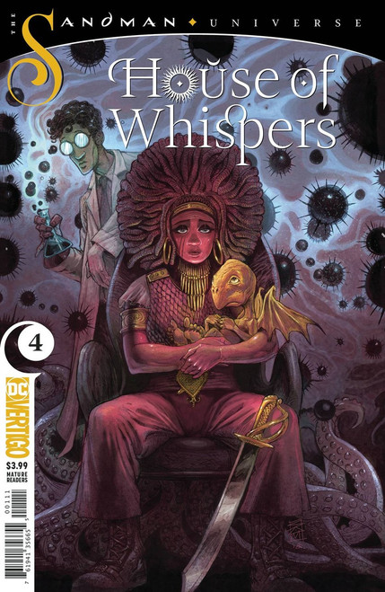 DC House of Whispers #4 The Sandman Universe Comic Book