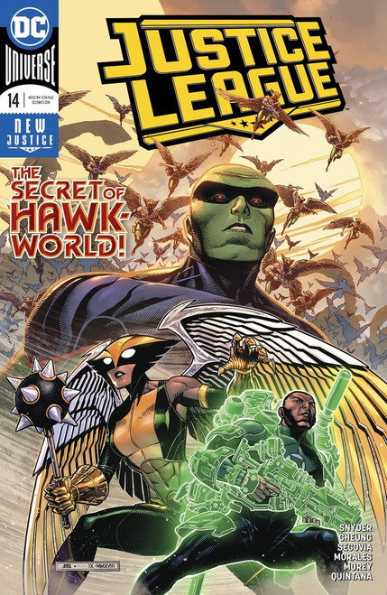 DC Justice League #14 Comic Book