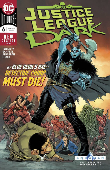 DC Justice League Dark #6 Comic Book