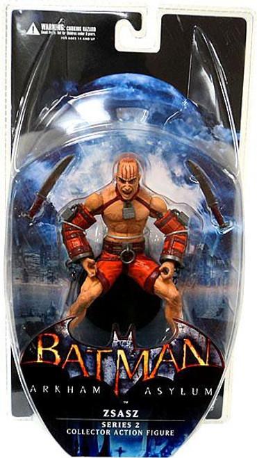 Batman Arkham Asylum Series 2 Zsasz Action Figure