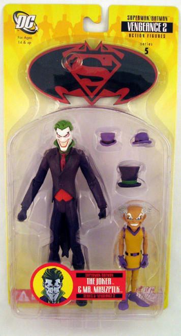 Superman Batman Series 5 Vengeance 2 The Joker and Mr. Mxyzptlk Action Figure