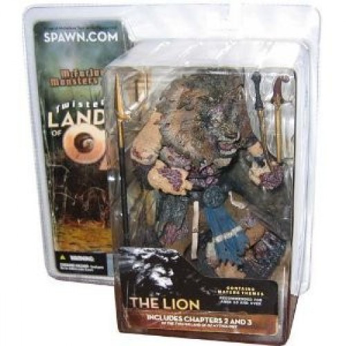 McFarlane Toys McFarlane's Monsters Twisted Land of Oz The Lion Action Figure