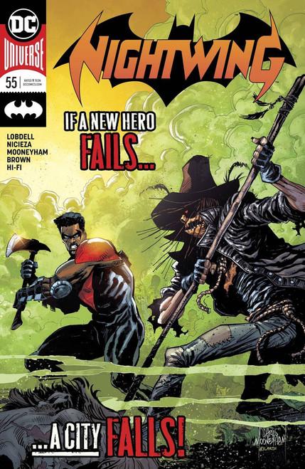 DC Nightwing #55 Comic Book