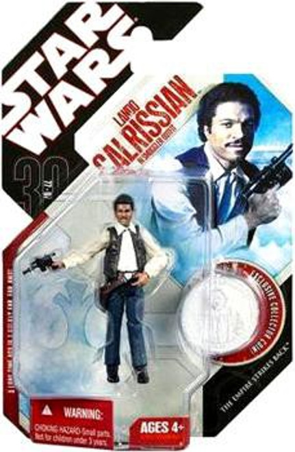 Star Wars The Empire Strikes Back 30th Anniversary 2007 Wave 6 Lando Calrissian in Smuggler Outfit Action Figure #39