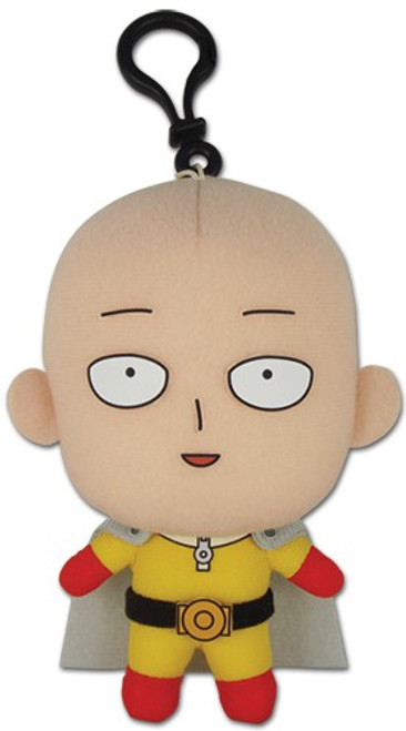 One Punch Man Saitama 5-Inch Plush Toy