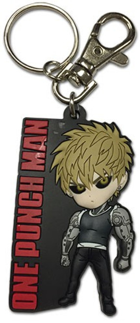 One Punch Man Genos PVC Keychain