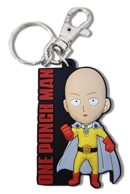 One Punch Man Saitama PVC Keychain