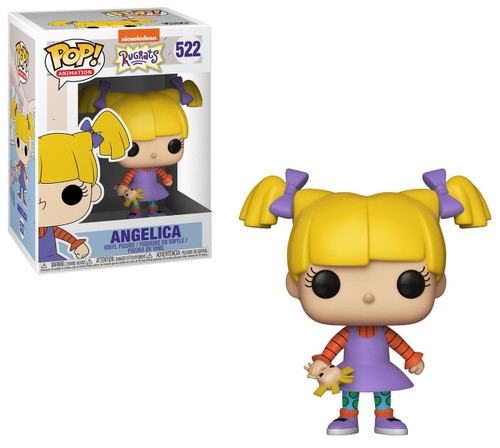 Funko Nickelodeon 90's Nick POP! Animation Angelica Vinyl Figure #522