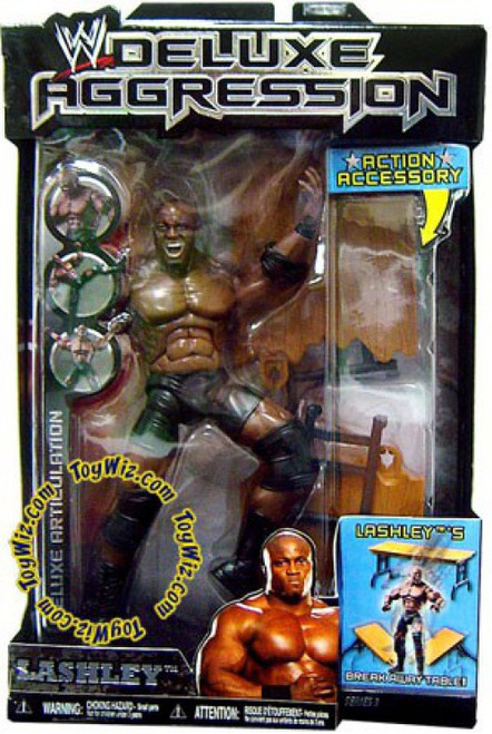 WWE Wrestling Deluxe Aggression Series 3 Bobby Lashley Action Figure