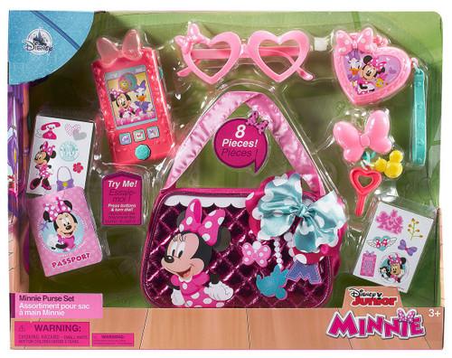 Disney Minnie Mouse Minnie Purse Set Exclusive Playset