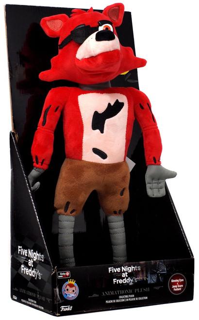 Funko Five Nights at Freddy's Jumpscare Foxy Exclusive Animatronic Plush