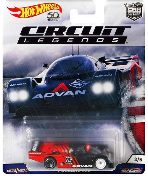 Hot Wheels Circuit Legends Porsche 962 Diecast Car #3/5