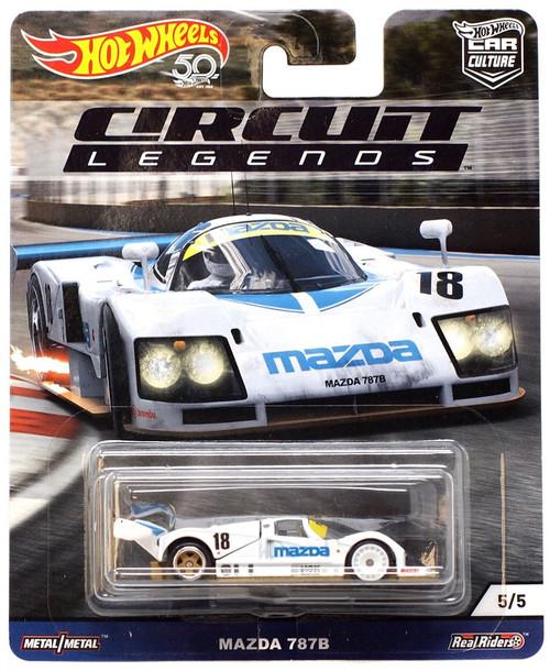 Hot Wheels Circuit Legends Mazda 787B Diecast Car