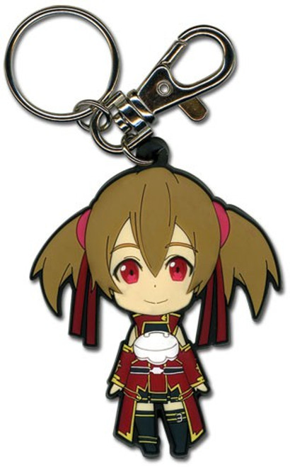 Sword Art Online Sillica PVC Keychain