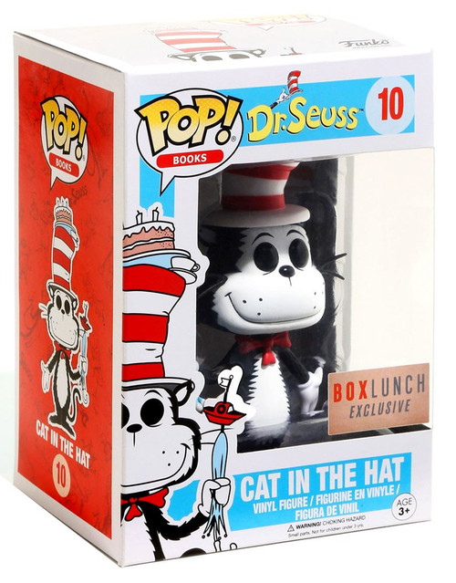 Funko Dr. Seuss POP! Books Cat in the Hat Exclusive Vinyl Figure #10 [Umbrella]