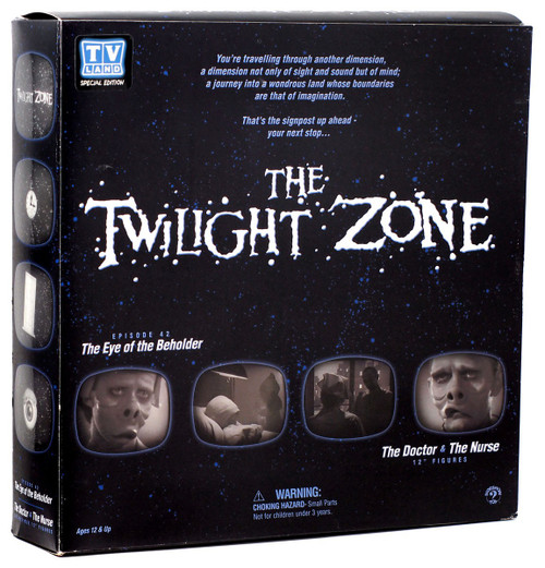 The Twilight Zone The Doctor & The Nurse Action Figure 2-Pack [The Eye of the Beholder]
