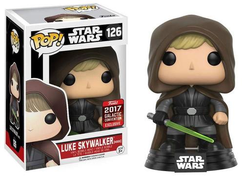 Funko POP! Star Wars Luke Skywalker Exclusive Vinyl Bobble Head [Hood]