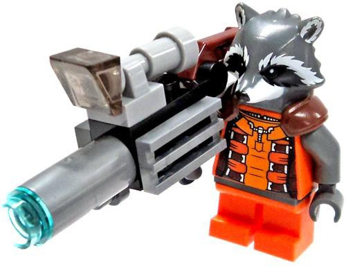 LEGO Marvel Guardians of the Galaxy Rocket Raccoon Minifigure [Loose]