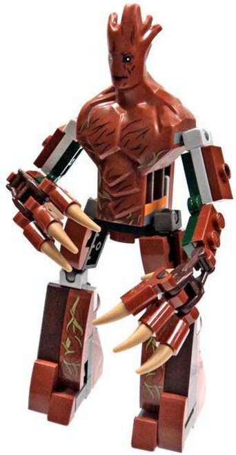 LEGO Marvel Guardians of the Galaxy Groot Minifigure [Loose]