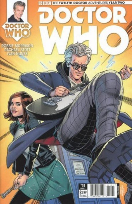 Titan Comics Doctor Who: The Twelfth Doctor Adventures Year Two #01 Comic Book [Rachael Scott & Hi-Fi Cover C]