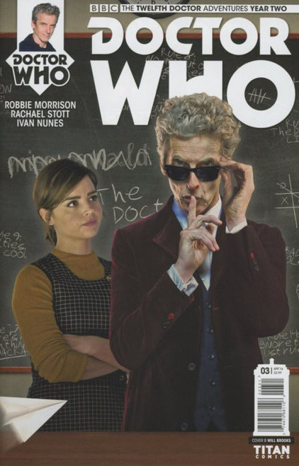Titan Comics Doctor Who: The Twelfth Doctor Adventures Year Two #03 Comic Book [Will Brooks Cover B]