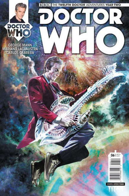 Titan Comics Doctor Who: The Twelfth Doctor Adventures Year Two #06 Comic Book