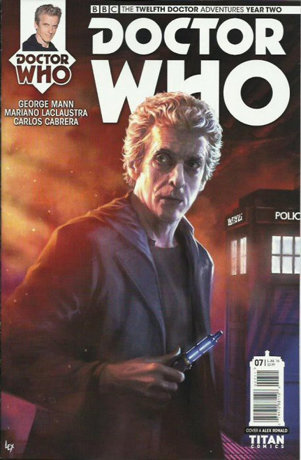 Titan Comics Doctor Who: The Twelfth Doctor Adventures Year Two #07 Comic Book