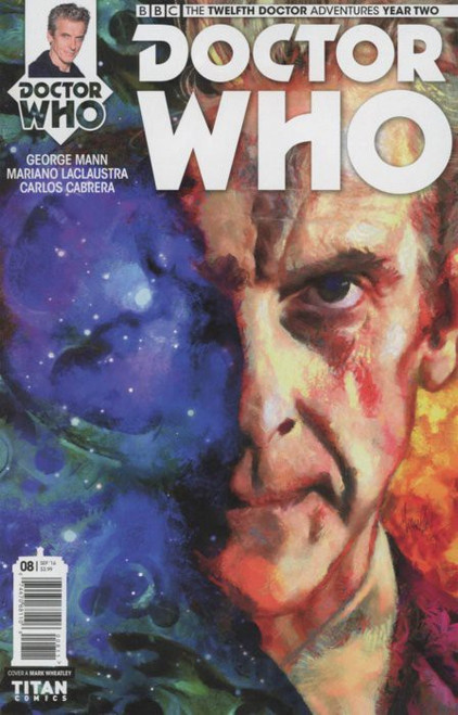 Titan Comics Doctor Who: The Twelfth Doctor Adventures Year Two #08 Comic Book