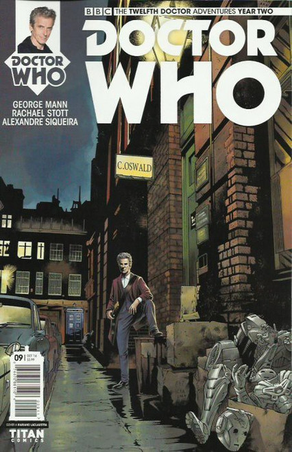 Titan Comics Doctor Who: The Twelfth Doctor Adventures Year Two #09 Comic Book