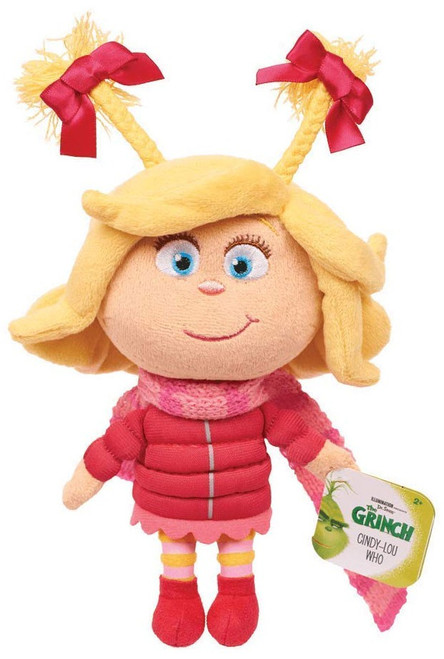 Dr. Seuss The Grinch Cindy Lou-Who 7-Inch Plush