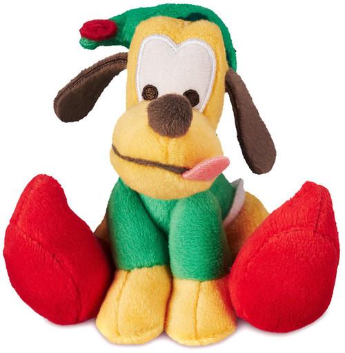 Disney Tiny Big Feet Pluto Holiday Exclusive 4-Inch Micro Plush