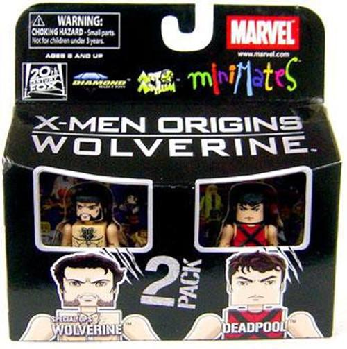 Marvel X-Men Origins Minimates Series 26 Special Ops Wolverine & Deadpool Minifigure 2-Pack
